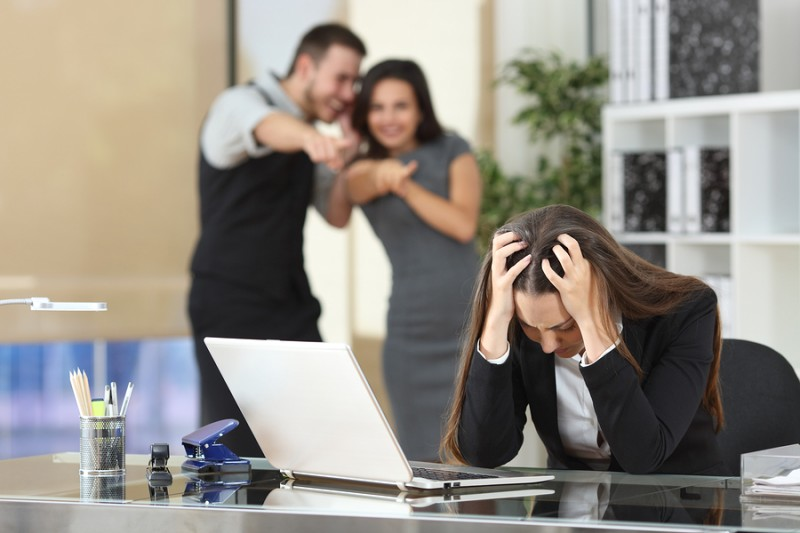 Los tipos de acoso laboral según el objetivo