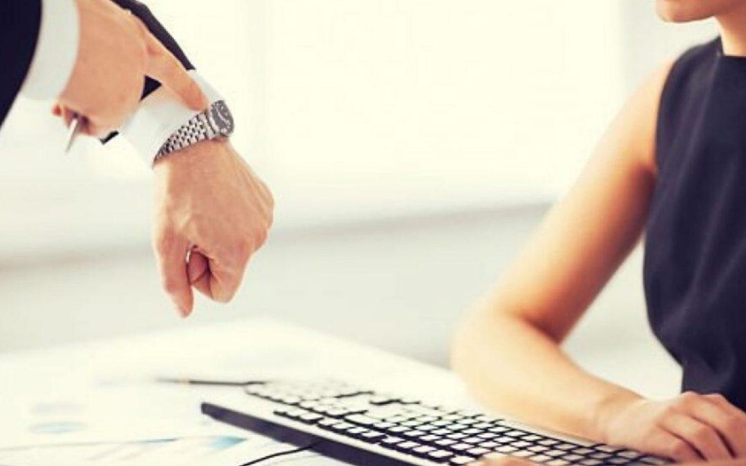 ¿Cuándo se puede despedir a un empleado que no ficha?